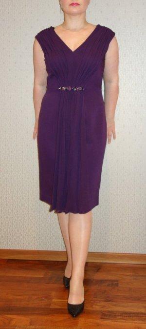 Luisa Spagnoli Robe de soirée brun pourpre-violet