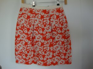 Luisa Spagnoli Circle Skirt orange-cream mixture fibre