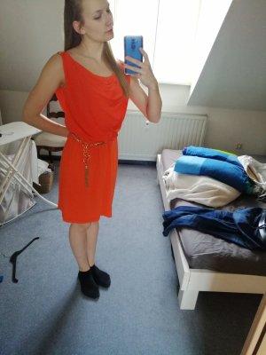 Luisa Spagnoli Midi Dress orange