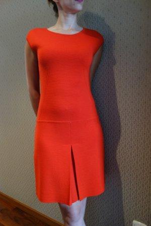 Luisa Spagnoli Wollen jurk rood Wol