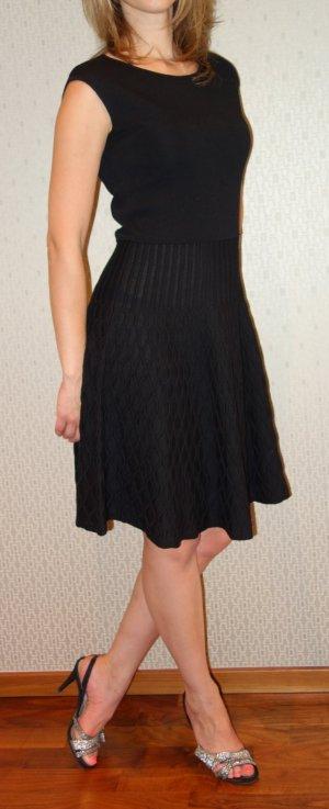 Luisa Spagnoli Wollen jurk zwart Wol