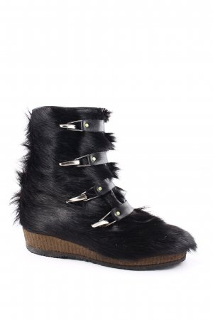 LuKlein Winter-Stiefeletten schwarz extravaganter Stil