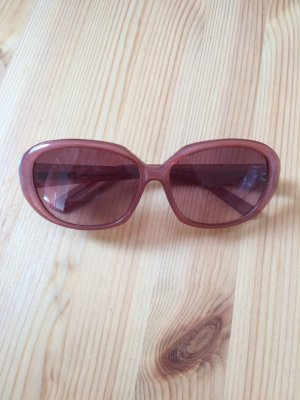 Sunglasses rose-gold-coloured acetate
