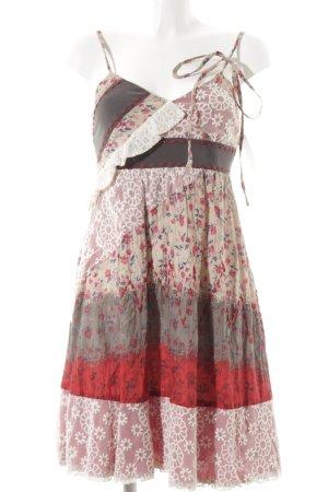 Lulu H. Paris Trägerkleid Blumenmuster Romantik-Look
