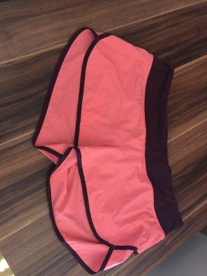 Lululemon athletica Pantalon de sport bordeau-rouge clair