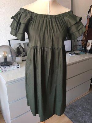 Lumina Off-The-Shoulder Dress multicolored