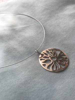 Collier Necklace rose-gold-coloured-silver-colored