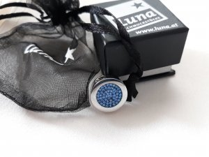 Luna Anhänger mit Swarovski Kristallen