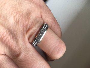 Luna Ring mit Swarovski Steinen Grau