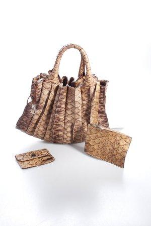 Lupo Carry Bag brown-light brown animal pattern animal print