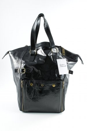 Lush Carry Bag black leather-look