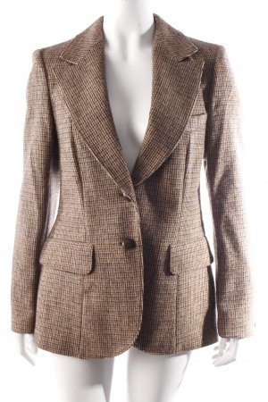 Lutz Teutloff plaid wool blazer