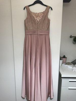 Luxuar Abendkleid mit Ziersteinbesatz
