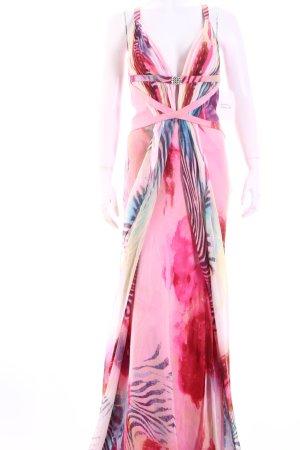 Luxuar Limited Maxikleid mehrfarbig Elegant