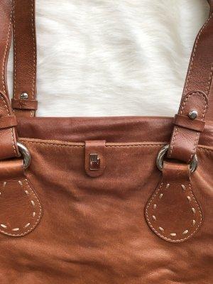 Luxuriöse Lederhandtasche von Roeckl