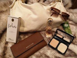 Gucci Lunettes blanc-marron clair