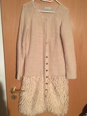by Lysgaard Knitted Coat cream wool