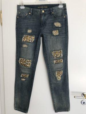 Luxury Michael Kors Jeans mit aufwendigen Kristall-Steinen Gr. 36 (27)