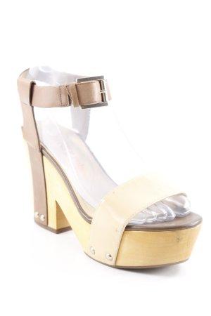 Luxury rebel Riemchen-Sandalen hellbeige-beige Casual-Look
