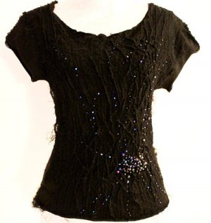 *  LUXURY  STRICK  TOP  *  Gr.M  *  NEUWERTIG  *