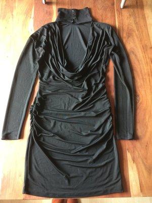 Phard Vestido de cóctel negro acetato
