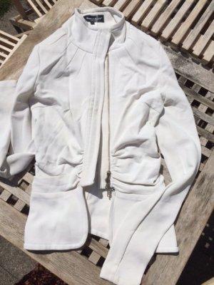 LUXUS - Adele Fado stylischer Blazer Weiß - Gr. 40 (it) oder 34