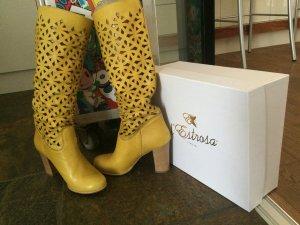 Luxus Boots Stiefel wie D&G Stil Limited Trend Blogger gr 38 npr 689