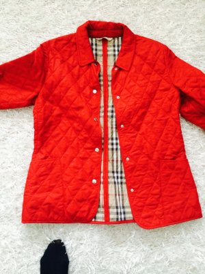 Burberry Veste rouge brique