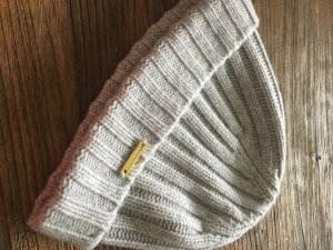Burberry Knitted Hat light grey