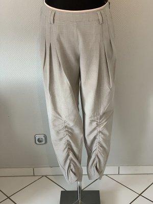 NÜ Denmark Pantalone a pieghe multicolore Tessuto misto