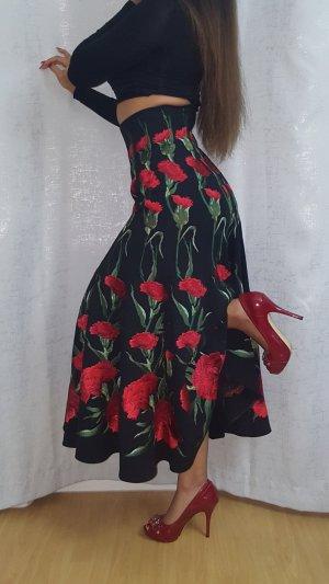 Dolce & Gabbana Midi Skirt multicolored
