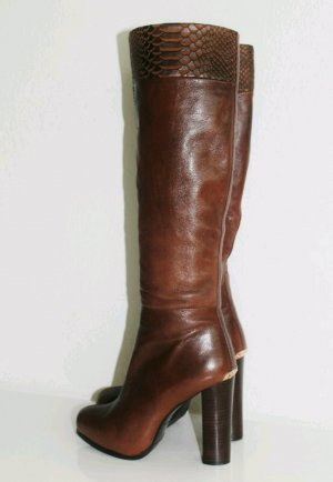 High Boots brown leather
