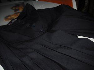 Luxus Escada HosenRock Rockhose Midi New Wool blau Hüftsattel Gr. 42 NP 560DM