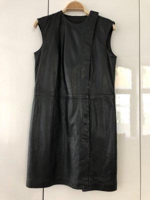 Luxus Feinstes Lamm Nappa Leder Kleid von Stand NP 699€