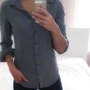 Lawrence Grey Flanellen hemd grijs-donkergrijs