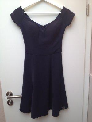 Luxus Gucci Kleid dunkelblau Gr. XS