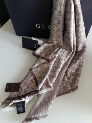 Gucci Sjaal lichtbruin-beige