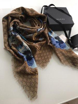 Luxus GUCCI Schal/Tuch NEU Modal/Seide