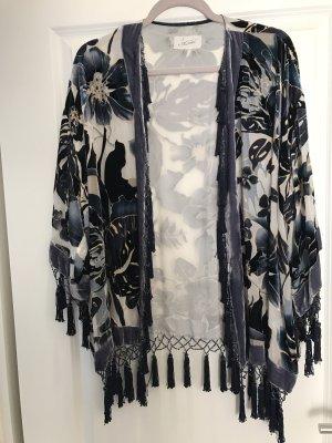 Jadicted Kimono sweater veelkleurig