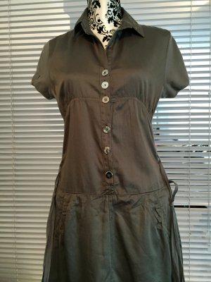 Luxus Kleid von *** BOTTEGA *** Gr. M / 38 - in der Farbe Khaki