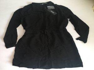 Luxus Kleid von Diesel Gr. S 36 schwarz Blusenkleid hemdkleid NP 220€