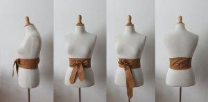 Waist Belt sand brown-brown leather