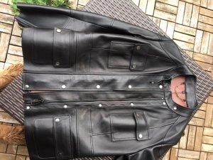Belstaff Leather Jacket black-brown leather