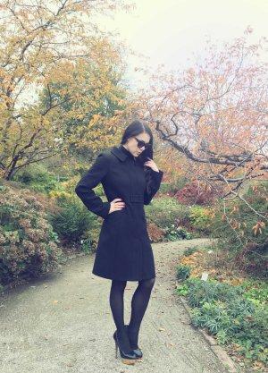 Tara jarmon Wool Coat black-anthracite