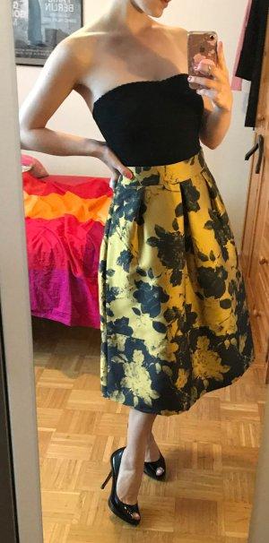 Max & Co. Midi Skirt gold-colored-black