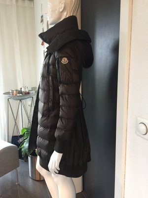 Moncler Down Coat taupe