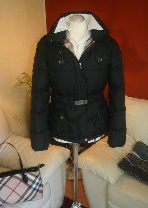 Luxus! Original Burberry Winterjacke/Daunenjacke Gr.M/L 42 schwarz Daunen Jacke