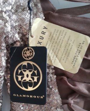 Luxus Pailettenkleid Beyonice von Glamerous -NEU mit Etikett