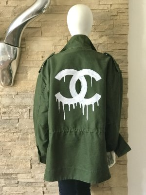 LUXUS! Parka costumized - Peace for Chanellover