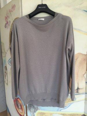 Luxus-Pullover*Cashmere*mit Perleneinsatz